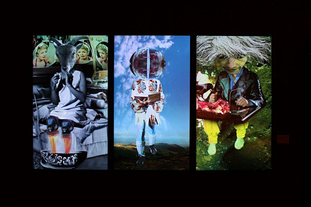 triptych digital art